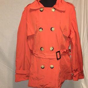 Ashley Stewart spring water resistance jacket